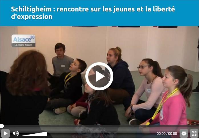 Schiltigheim  rencontre sur les jeunes et la liberté d'expression - Google Chrome
