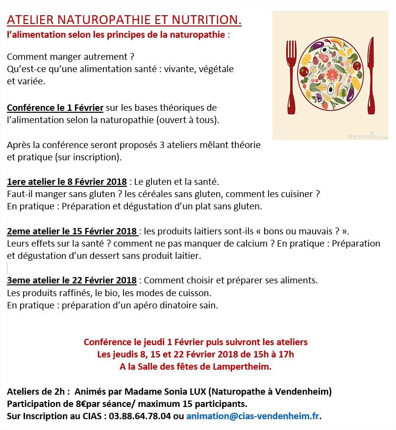 Atelier article NATUROPATHIE ET NUTRITION.docx [Lecture seule] - Word