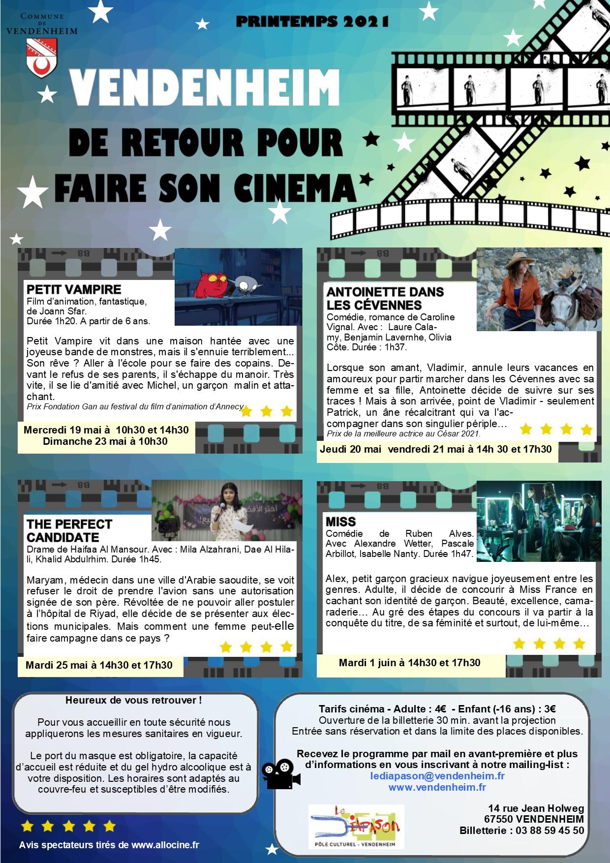 programme ciné 3