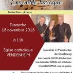 RAVEL concert ensemble baroque