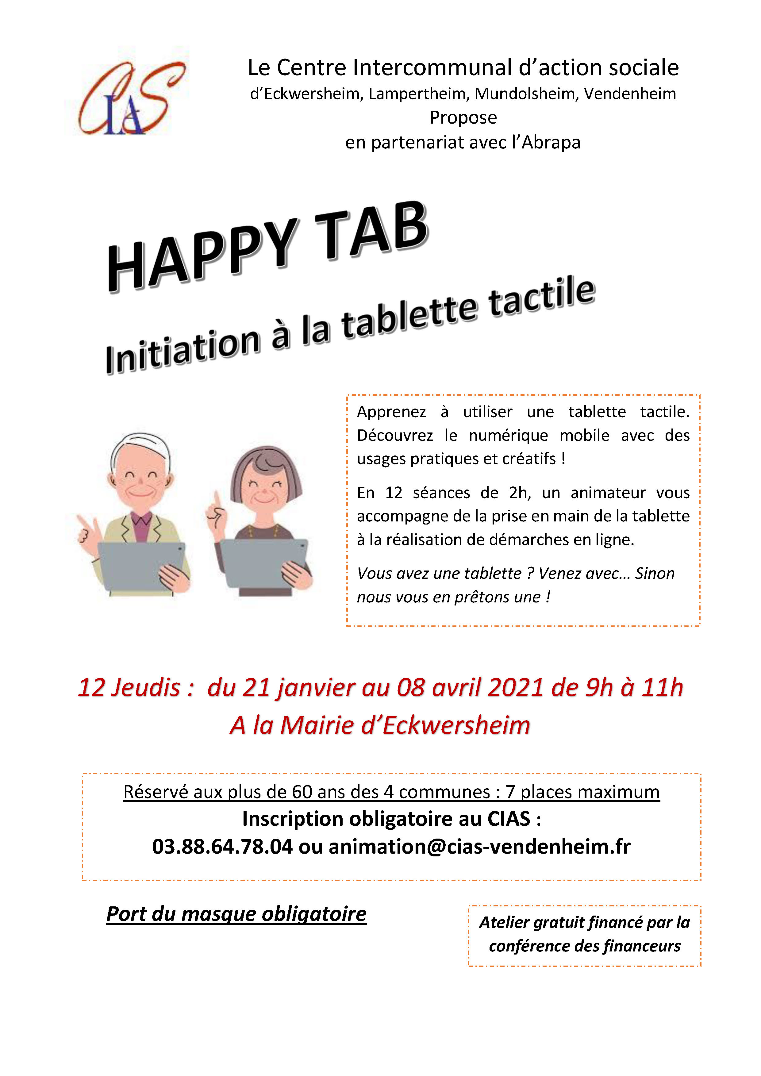 affiche Happy Tab