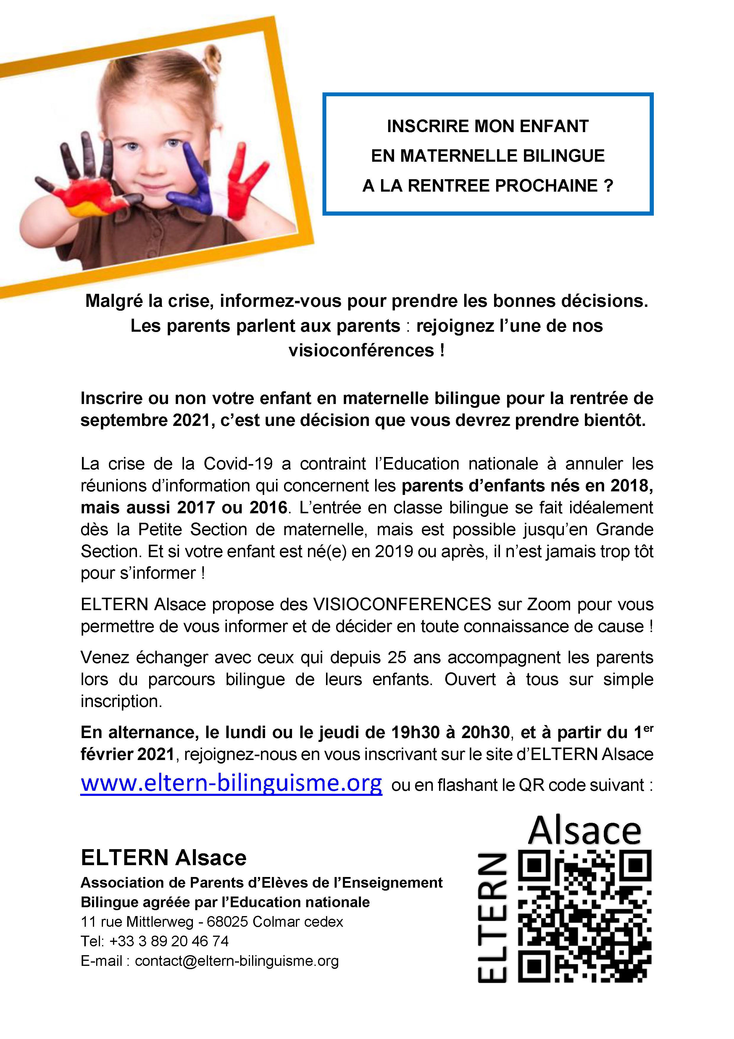 Affiche visioconférences_ELTERN Alsace