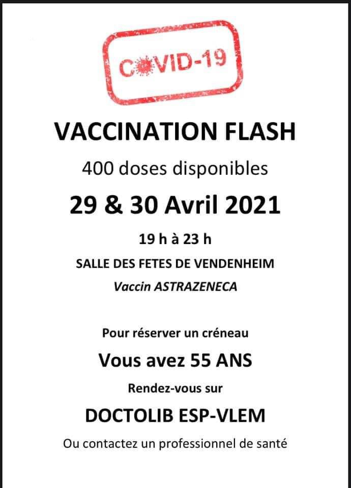 vaccination flash