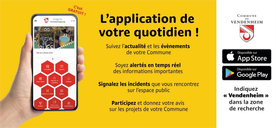 Téléchargez l'application mobile Vendenheim ! - Mairie de Vendenheim - Mozilla Firefox