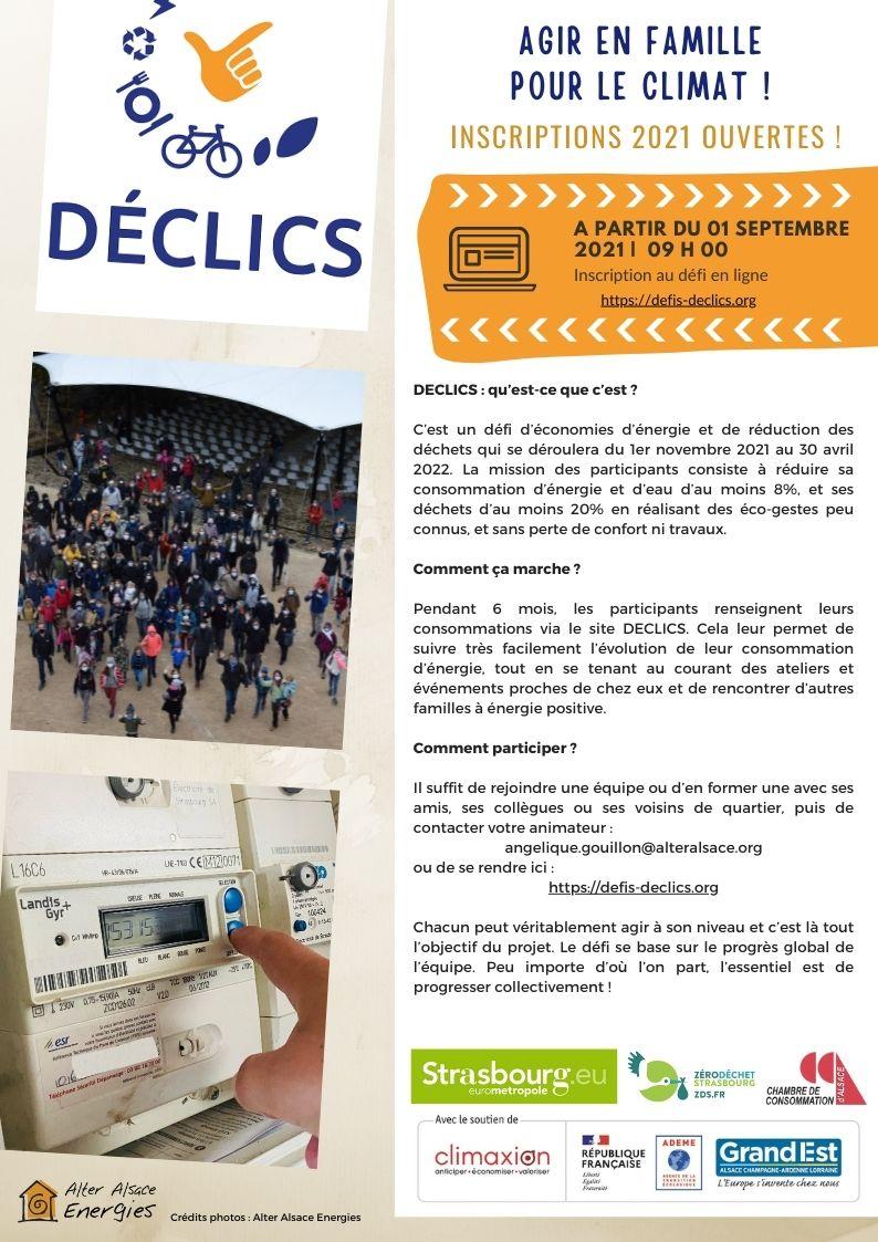 DECLICS - Communiqué de presse